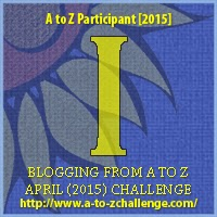 a to z badge letter i